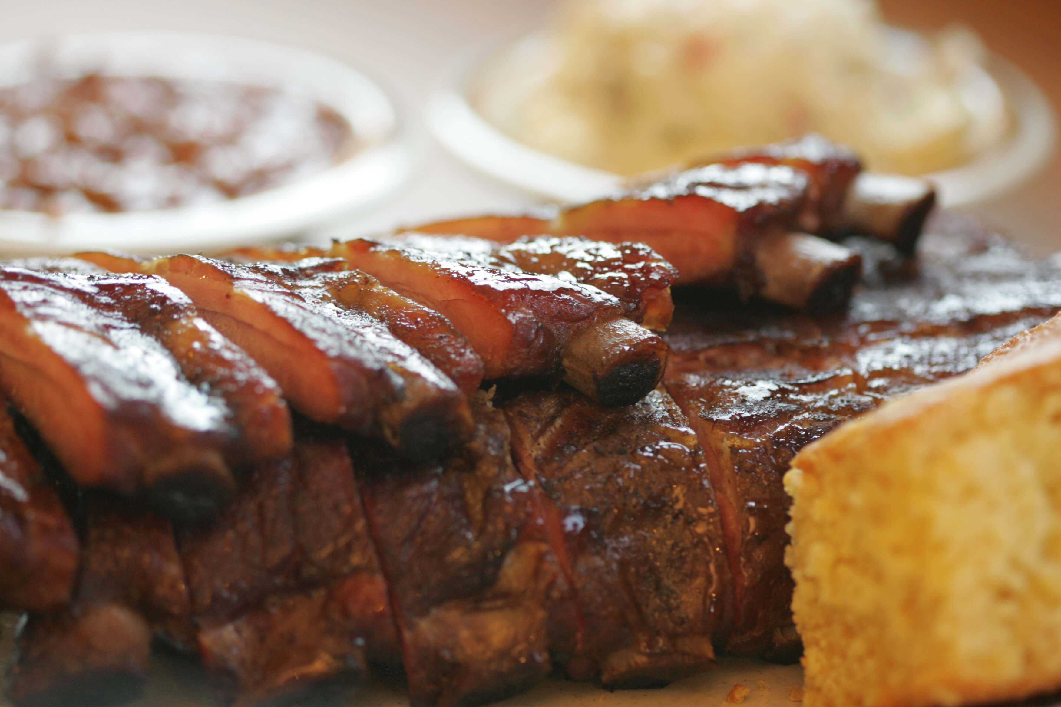 BBQ Dinner Plate with Sides